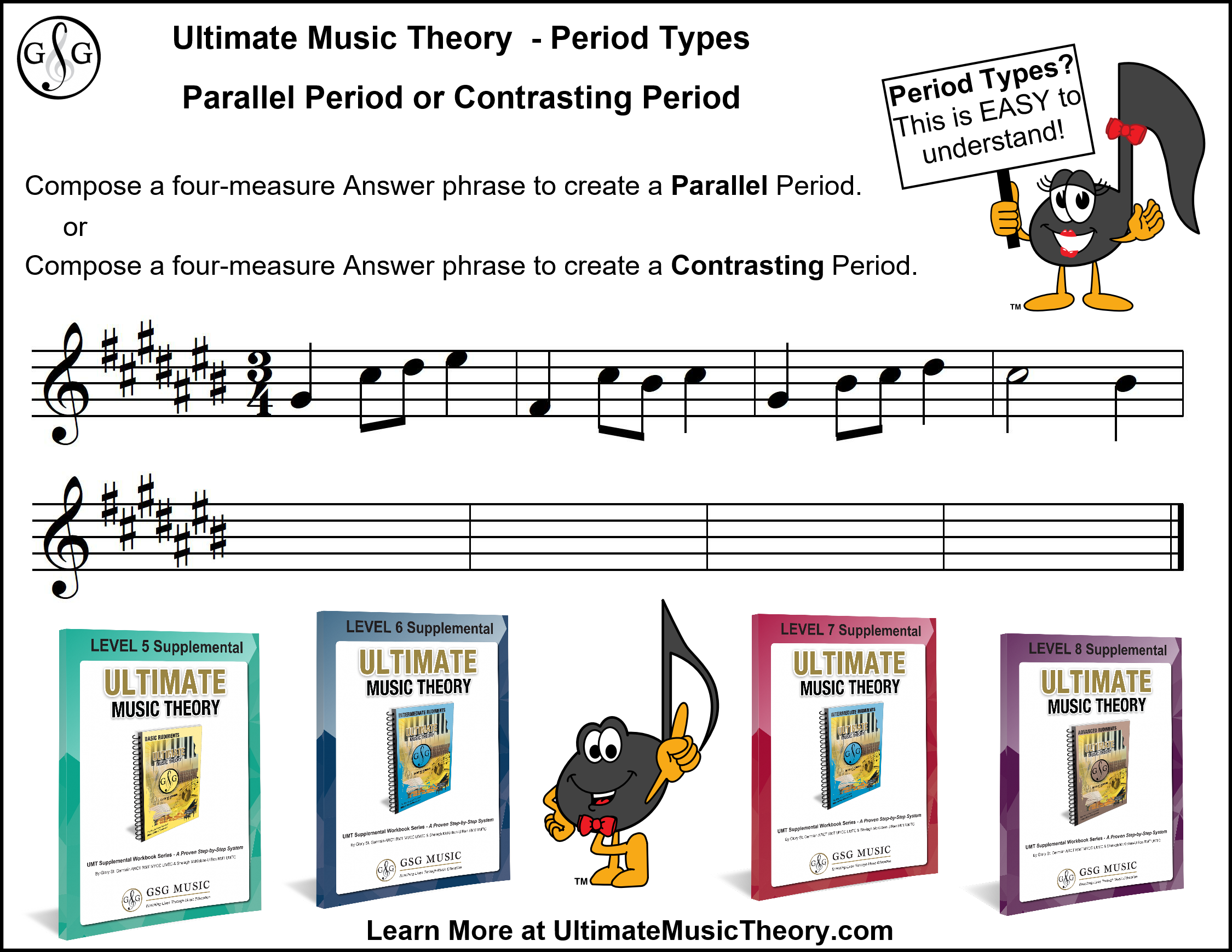 Ultimate Music Theory - Parallel or Contrasting