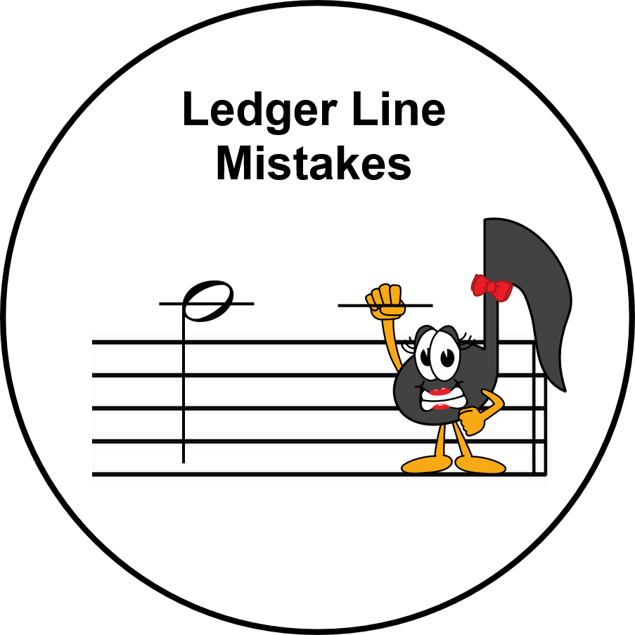 Ultimate Music Theory Ledger Line Mistakes