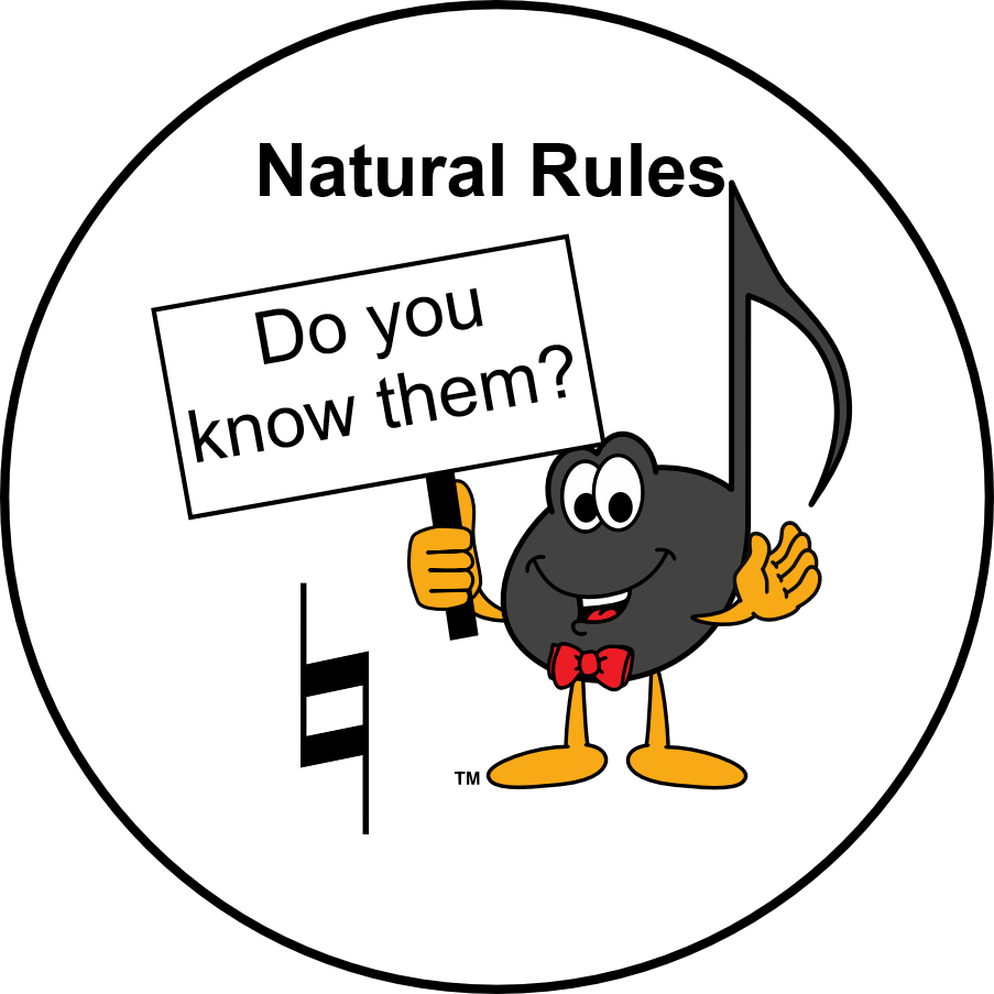 Ultimate Music Theory - Natural Rules