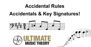 Accidental Rules – Accidentals and Key Signatures