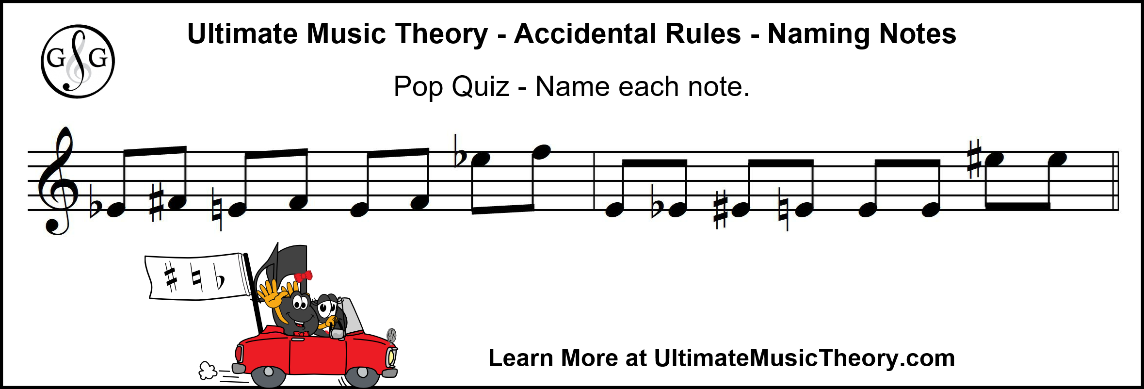 UMT Naming Notes with Accidentals Pop Quiz