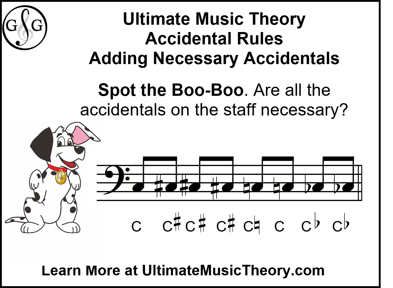 UMT Adding Necessary Accidentals - Spot the Boo Boo