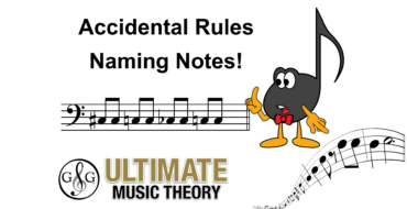 Accidental Rules – Naming Notes
