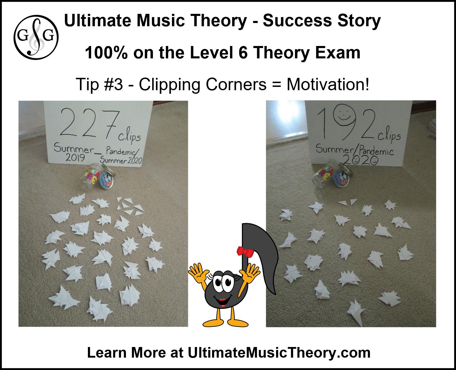 Ultimate Music Theory Perfect Level 6 Theory Exam Motivator