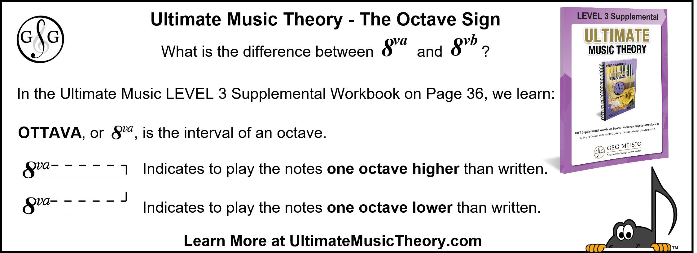 UMT Octave Sign Level 3 Supplemental Workbook