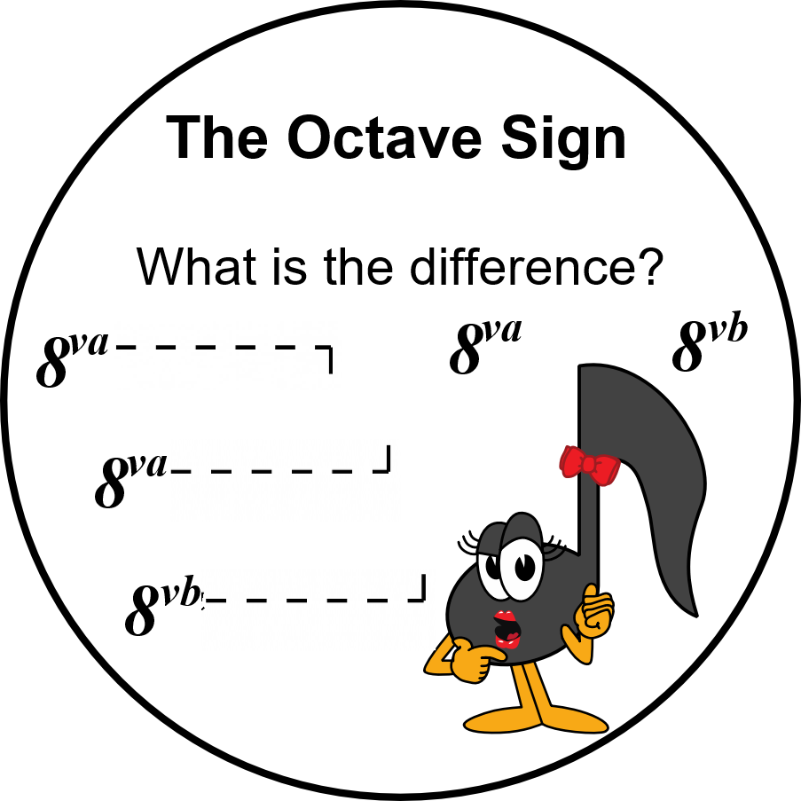 UMT - The Octave Sign - 8va or 8vb