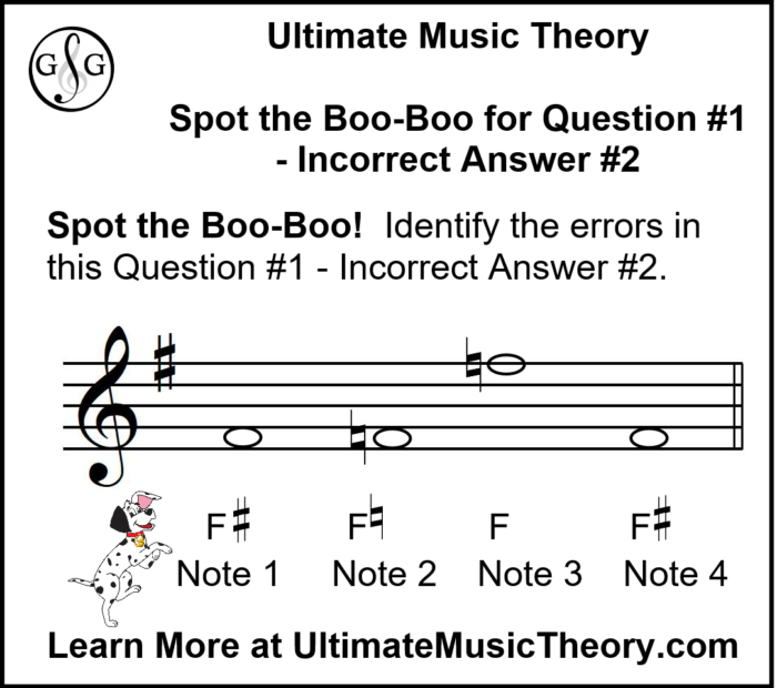 UMT Accidental Rules - Writing Notes using Accidentals