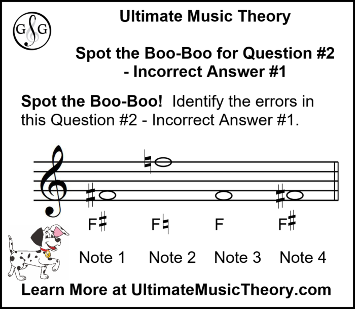 UMT Writing Notes using Accidentals and Key Signatures