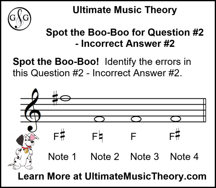 UMT Accidental Rules - Writing Notes using Accidentals and Key Signatures