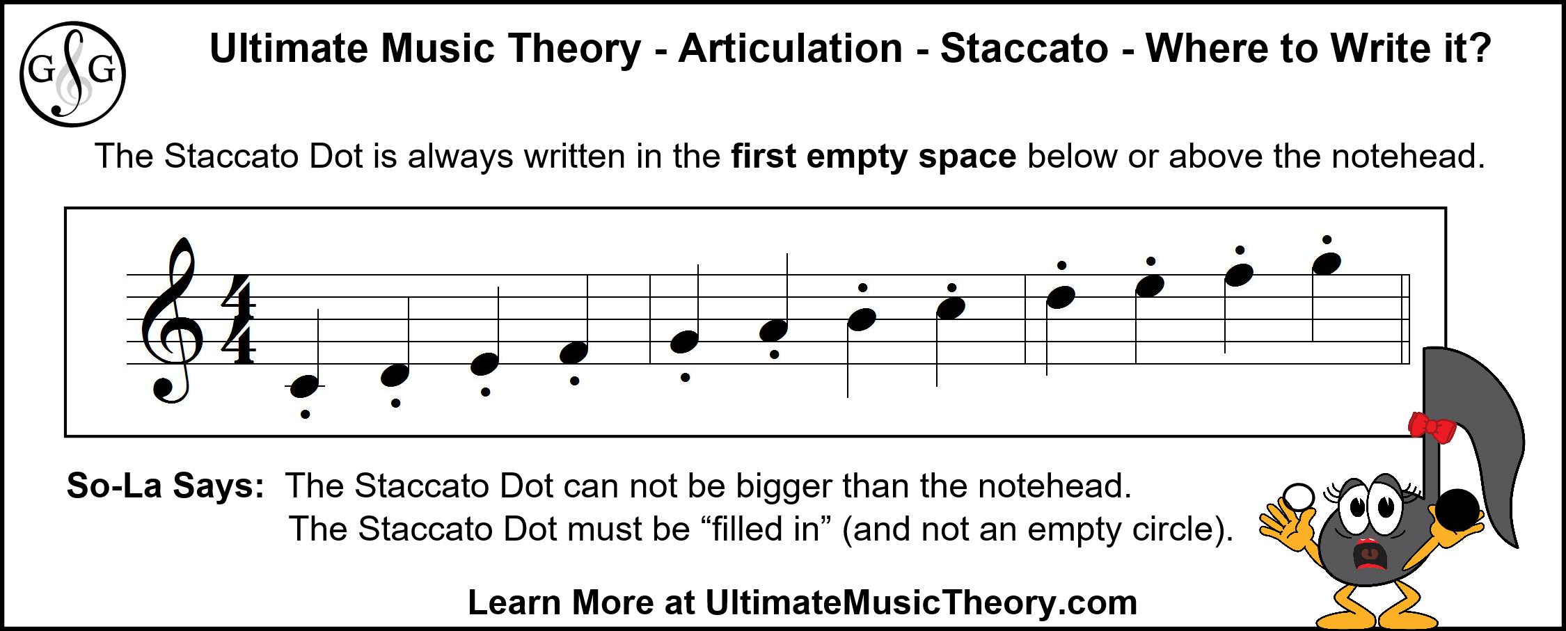 UMT - Articulation - Staccato