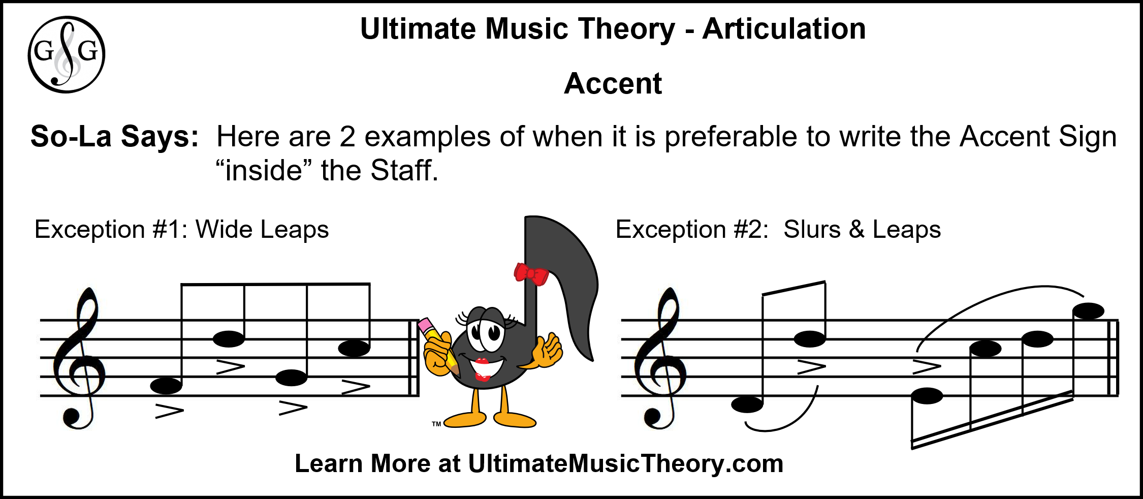 UMT - Articulation - Accent Rule Exception