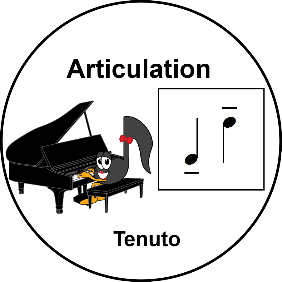 UMT Articulation - Tenuto Line