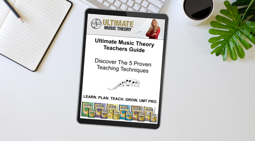 Ultimate Music Theory Teachers Guide